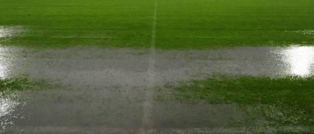 pelouse inondée